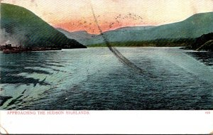 New York Approaching The Hudson Highlands 1909