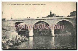 Old Postcard Marseille Pont Du Vallon Des Auftes