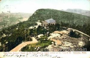 Upper Station, Mt Tom Railway Holyoke MA 1907