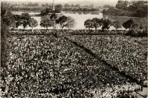 CPA Tananarive- Messe en plein air MADAGASCAR (830016)