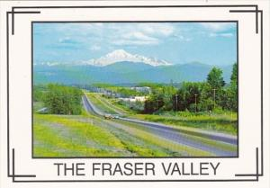 Canada British Columbia Fraser Valley View Of Mount Baker