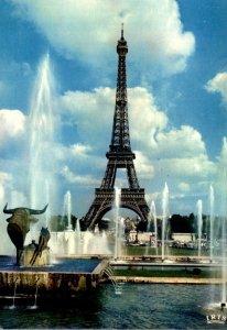 France Paris La Tour Eiffel depuis le Palais de Chaillot