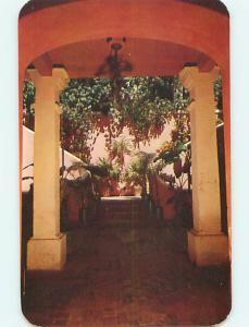 Unused 1950's PATIO HOTEL IN ST. THOMAS US Virgin Islands USVI Q5595