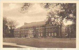Indiana Greencastle Harrison Hall De Pauw University Albertype