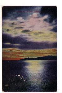 Sunset of the Bay, Vancouver, British Columbia, Mezzograph