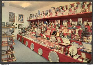 p81 - Portugal Postcard 1970s Benfica Lisboa TROPHY ROOM. Soccer Football