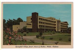 Mobile, Alabama, Early View of Springhill College Jesuit House of Studies
