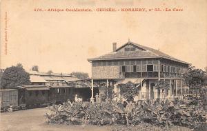 Guinea Guinee Konakry Conakry: La Gare, Station, Bahnhof, Train, Railway