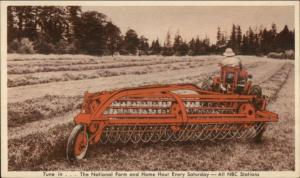 Farming Agriculture Adv - Tractor Allis Chalmers Postcard