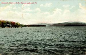 NH - Lake Winnipesaukee. Mountain Views