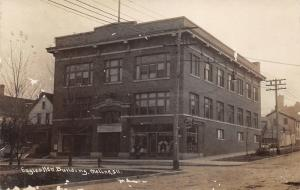 Moline Illinois~Fraternal Order Eagles New Building~Billiards~c1910 RPPC