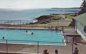 Swimming Pool, Atlantic Ocean, Ovens Natural Park, LUNENBURG, Nova Scotia, Ca...