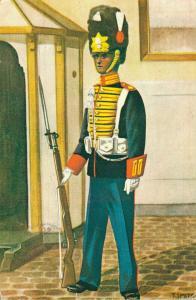 Military postcard Garderegiment Grenadiers Ceremoniële tenue Grenadier 02.14