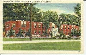 Togus, Maine, Nurses Home, Veterans Administration Facility