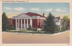 South Carolina Orangeburg First Church