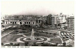 Caire Midan Tahrir & Caire Musée Carte Postale