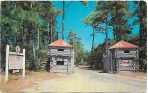 Fort Raleigh. Manteo, N.C.  Unused.  Birthplace of Virginia Dare.