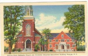 Edenton Street Methodist Church and Poindexter Memorial Educational Building,...
