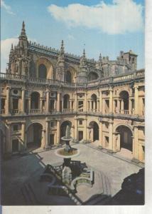 Postal 013795: Claustro del Convento de Cristo en Tomar, Portugal