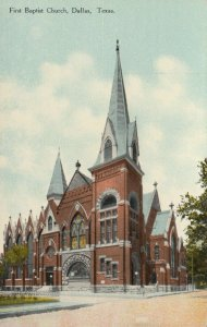 DALLAS , Texas, 00-10s ; First Baptist Church