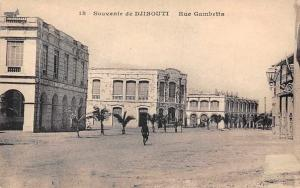 Souvenir de Djibouti - Rue Gambetta