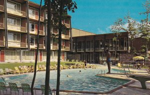 QUEBEC, 1950-1960's; Congress Inn, Swimming Pool