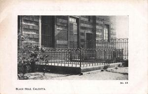 Black Hole, Calcutta, India, Early Postcard, unused