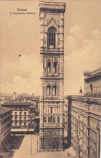 Italy Firenze Il Campanile Giotto