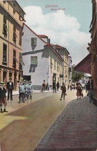 Gibraltar Main Street Scene sk4467