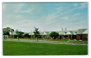 BOISE, Idaho ID ~ Roadside BOULEVARD MOTEL ca 1960s Postcard