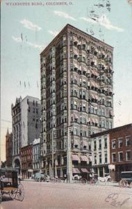 Ohio Columbus Wyandotte Building 1907