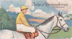 E & W Anstie Vintage Cigarette Card Racing Series No 12 Duke Of Devonshires C...