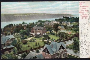 New York YONKERS The Palisades from Lake Avenue Water Tower - pm1910 - Und/B