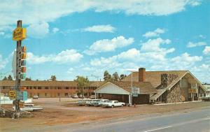 SHOW LOW, AZ Arizona MAXWELL HOUSE MOTEL~Coffee Shop NAVAJO CO Roadside Postcard