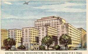 DC - Washington. Hotel Statler