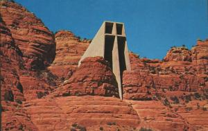 Chapel Of The Holy Cross Sedona Arizona AZ Unused Vintage Postcard D25