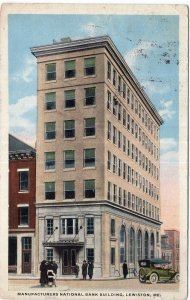 Lewiston, Me, Manufacturers National Bank Building