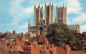 B88057 lincoln cathedral uk  14x9cm