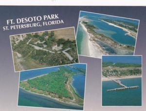 Florida St Petersburg Fort DeSoto Park Aerial Views