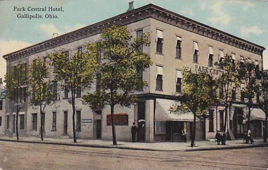 Park Central Hotel Gallipolis Ohio Pu 00 10s
