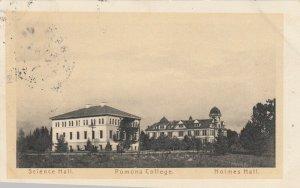 CLAREMONT , California , 1908 ; Pomona College
