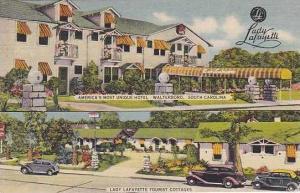 South Carolina Waynesboro Lady Lafayette Hotel
