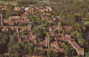 Aerial View Duke University Durham North Carolina