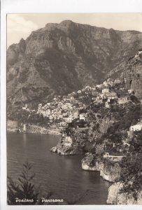 Positano, Panorama, Italy, Italia, unused real photo, vera fotografia, Postcard