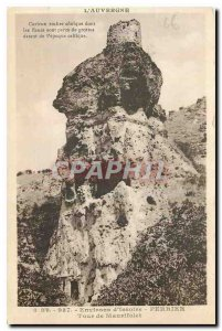 Old Postcard Auvergne Surroundings Issoire Perrier Tower Maurifolet