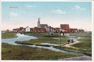 Netherlands Marken Town View