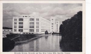 DANVILLE, Virginia, 1920-30s; Dan River Cotton Mills