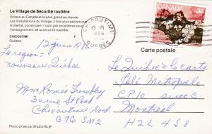 Carte Canada Chicoutimi.Chicoutimi Quebec Canada Pu 1986 Le Village De Securite Routiere