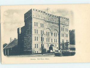 Pre-1907 BUILDING SCENE Fall River Massachusetts MA H7386