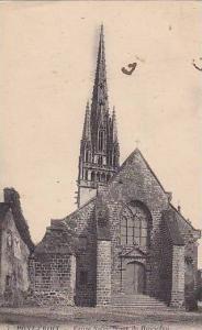 PONT-CROIX, Eglise Notre-Dame de Roscudou Facade Occidentale, Finistere, Fran...